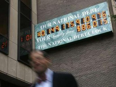 US National Debt Clock - New York City