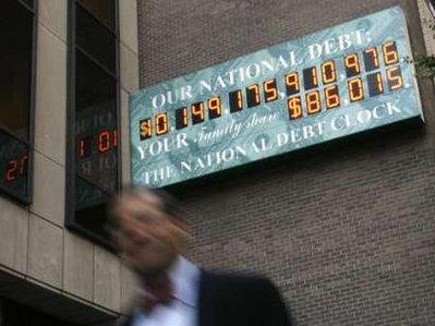 US National Debt Clock - New York City