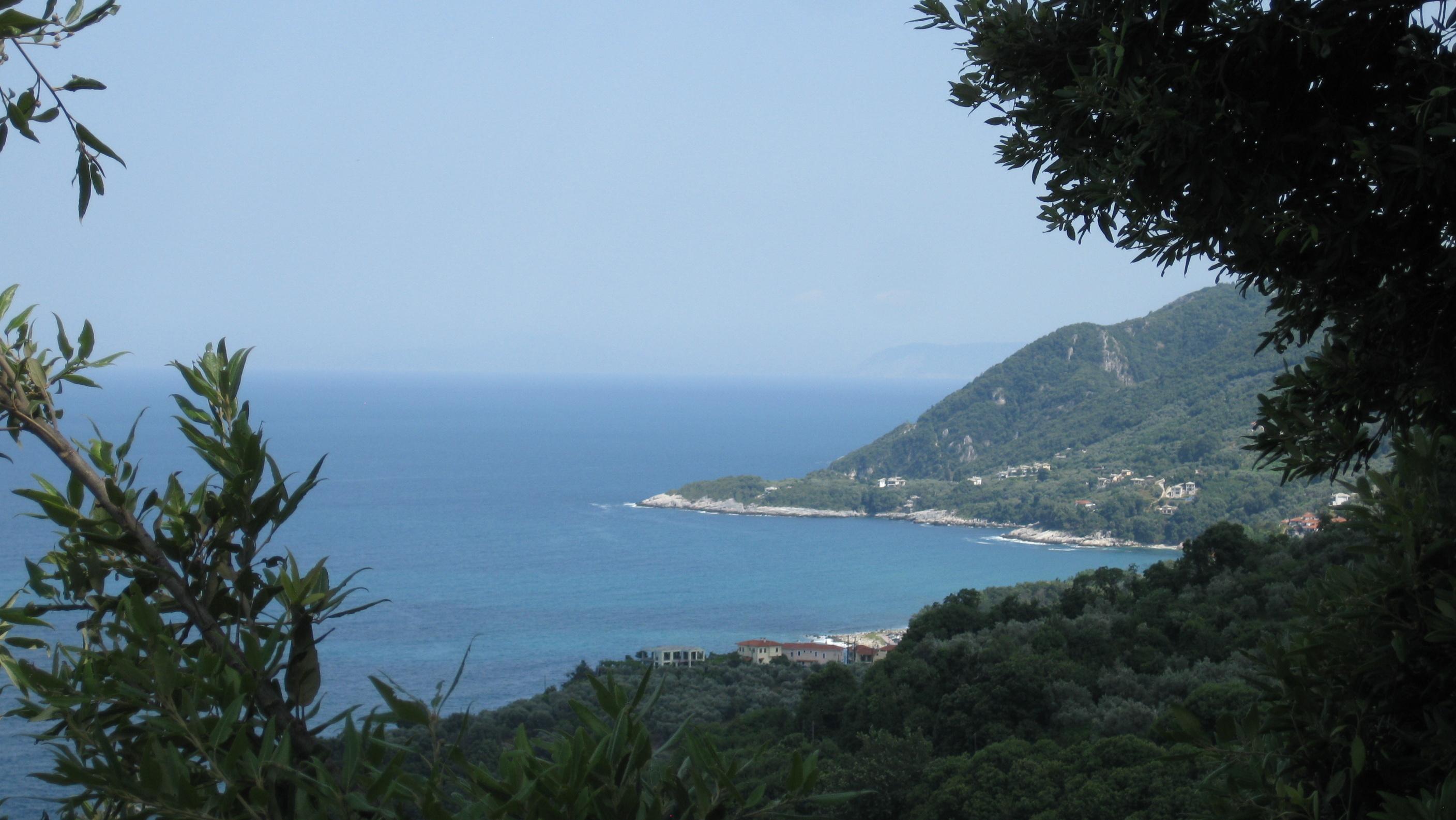 View southward from Alexandros