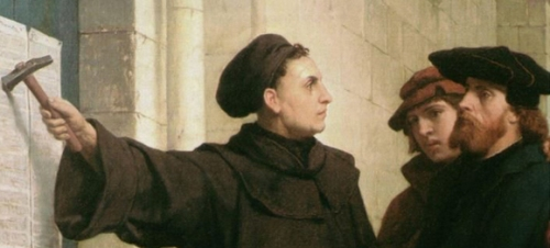 Luther-Nailing-ninety-five-theses